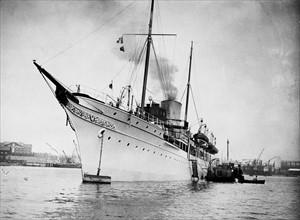 Le bateau à vapeur Nahlin