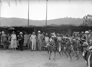 Le Prince de Galles en visite officielle en Afrique, 1925