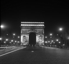 L'Arc de Triomphe à Paris