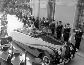 Mariage du Prince Rainier de Monaco et de Grace Kelly
