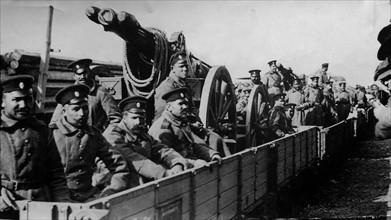 La Guerre dans les Balkans, 1912