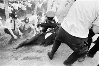 Grève des dockers anglais en 1972
