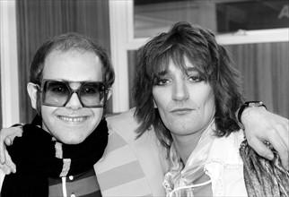 Rod Stewart et Elton John