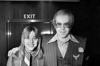 Elton John et Suzi Quatro
