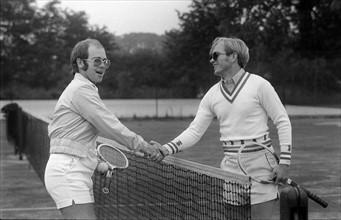 Elton John et Larry King