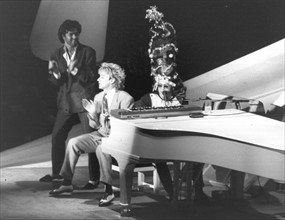 Elton John, George Michael et Rod Stewart