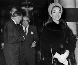 Maria Callas et Aristote Onassis