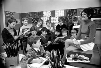 Ecole en Angleterre, 1969