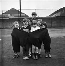 Enfants de Featherstone en Angleterre, 1969