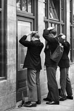 Etudiants de la Owens Grammar School en Angleterre, 1959