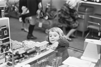 Children Cheistmas Shopping 24th December 1968