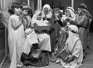 The White House Nursery School nativity play
