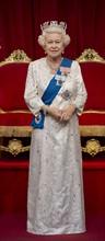 La statue de cire de la reine Elisabeth II