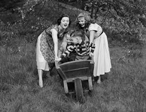 Journée à la campagne, 1954