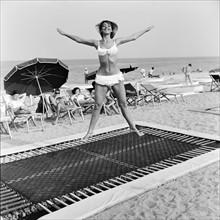 Mannequin portant un bikini