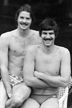 David Wilkie et Mark Spitz