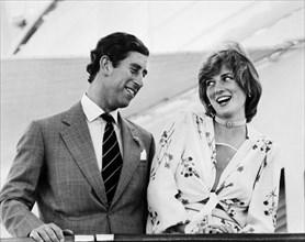 Le Prince Charles et la Princesse Diana, 1981