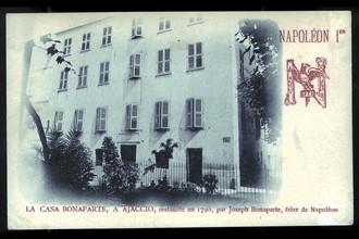 Napoléon 1er. La maison natale à Ajaccio