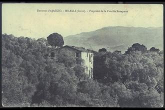 Milelli (environs d'Ajaccio). Propriété de la famille Bonaparte.