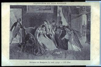 Maison natale de Napoléon 1er à Ajaccio. Naissance de Napoléon.