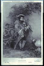 Brienne. Napoléon, élève à l'école militaire