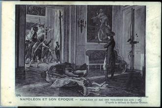 Napoléon au sac des Tuileries.
