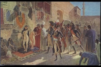 Napoléon Bonaparte.  Campagne d'Egypte.