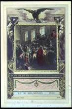 Napoléon Bonaparte.  Coup d'Etat du 18 brumaire 1799.