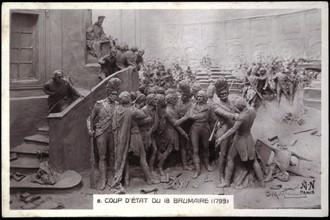 Napoléon Bonaparte : Coup d'Etat du 18 Brumaire.