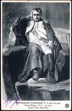 Portrait de Napoléon 1er à Sainte Hélène