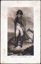 Portrait de Napoléon 1er à Sainte-Hélène