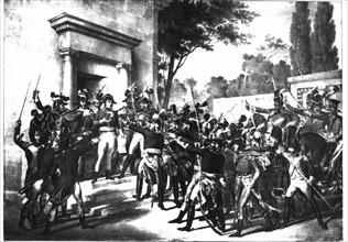 Matinée du 18 Brumaire, an VIII