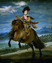 Vélasquez, Portrait équestre de Baltasar Carlos d'Espagne