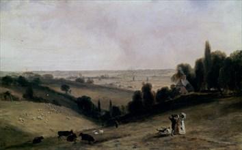 Constable, Vallée de Dedham