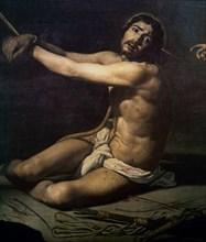Vélasquez, Le Christ à la colonne (détail)