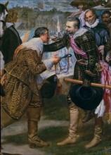 Vélasquez, La Réddition de Breda (détail)