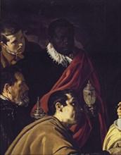Vélasquez, L'Adoration des mages (détail)