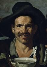 Vélasquez, Les Buveurs (détail)