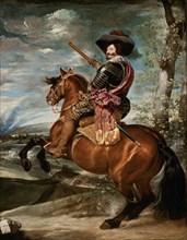 Vélasquez, Portrait équestre de Gaspar de Guzman, comte-duc d'Olivares
