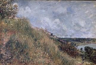 Sisley, La Seine, vue des coteaux de By