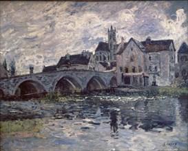 Sisley, Le pont à Moret sur Loing