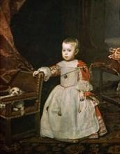 Velasquez, Portrait de l'Infant Philippe Prosper