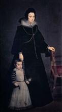 Vélasquez, Portrait d'Antonia de Ipeñarrieta avec son fils Luis