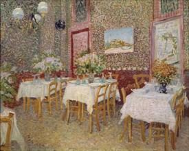 Van Gogh, Intérieur d'un restaurant