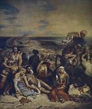 Delacroix, Scène des massacres de Scio