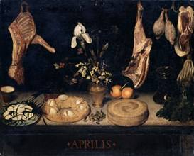 Vélasquez, Nature morte relative au mois d'Avril