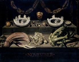 Vélasquez, Nature morte relative au mois de Novembre