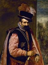 """Vélasquez, Le bouffon appelé """"Jean d'Autriche"""" (détail)"""