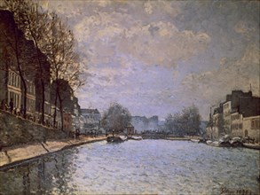 Sisley, Vue du canal Saint-Martin