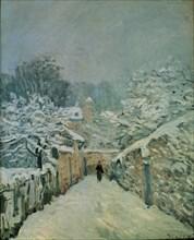 Sisley, La neige à Louveciennes